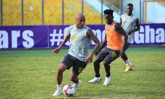 Andre, Partey, Jordan start against São Tomé