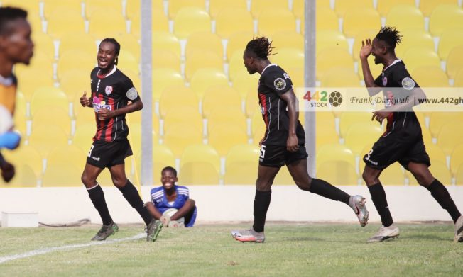 Inter Allies give away lead to draw with Ashanti Gold in Accra