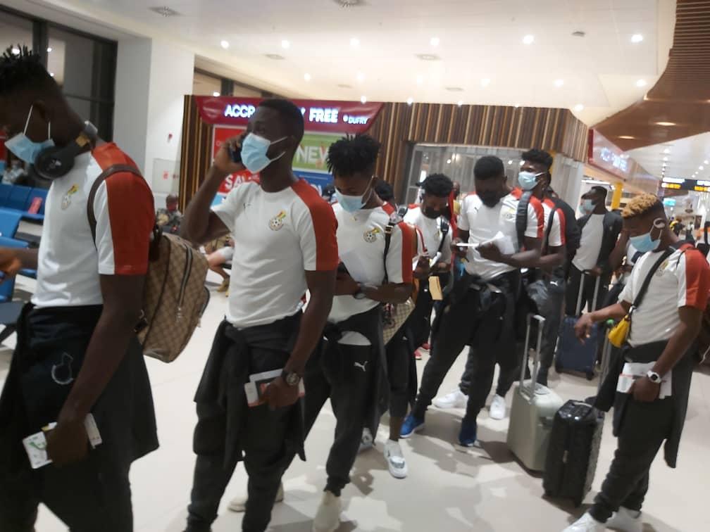 Ghana departs Accra for Tashkent for Uzbekistan friendly