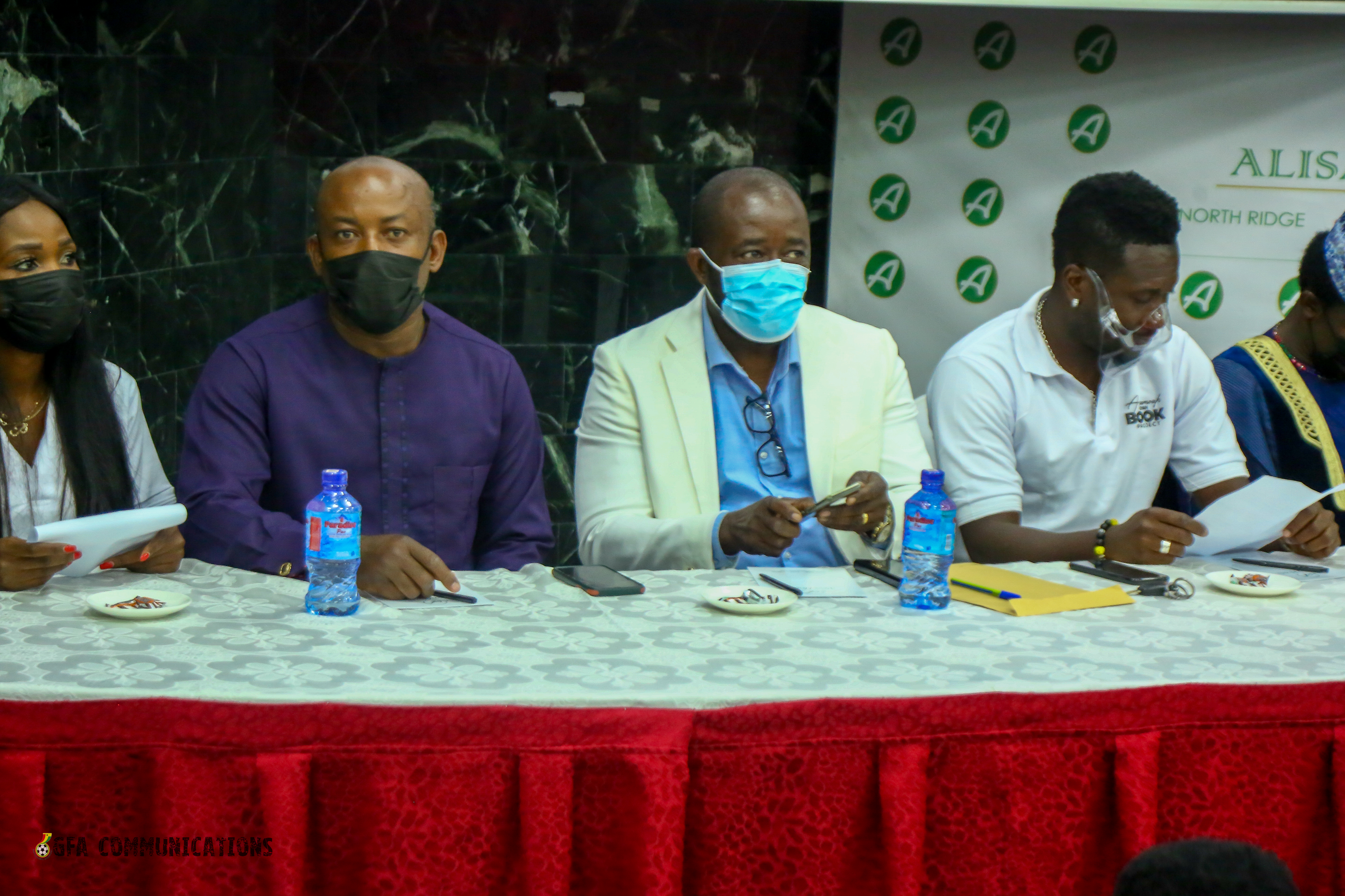 GFA President eulogizes former captain Gyan at Book Launch