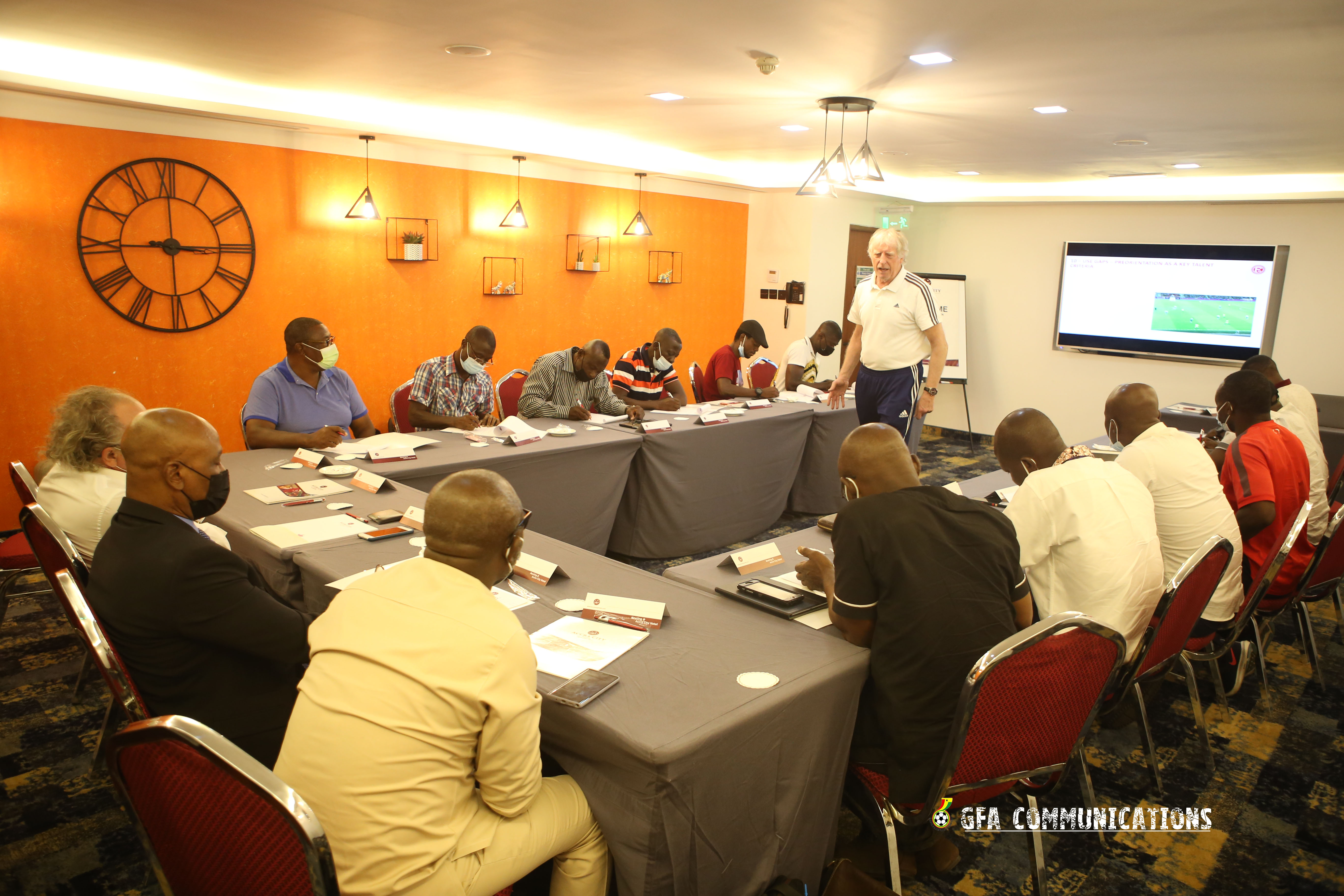 IMG 7220 - Ghana FA Opens One Week Refresher Course For Male National Team Coaches
