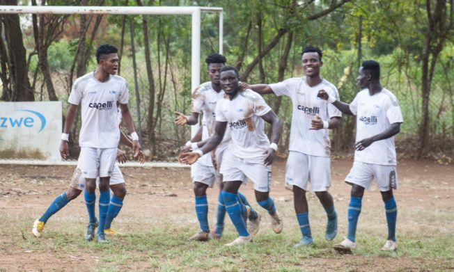 Zone Three results: Royals share spoils with Lions, Nania hold Danbort, Accra City pip Heart of Lions