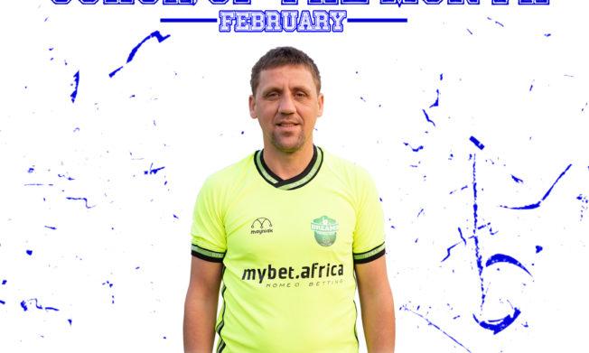 Dreams FC's Vladislav Viric wins NASCO Coach of the Month - February