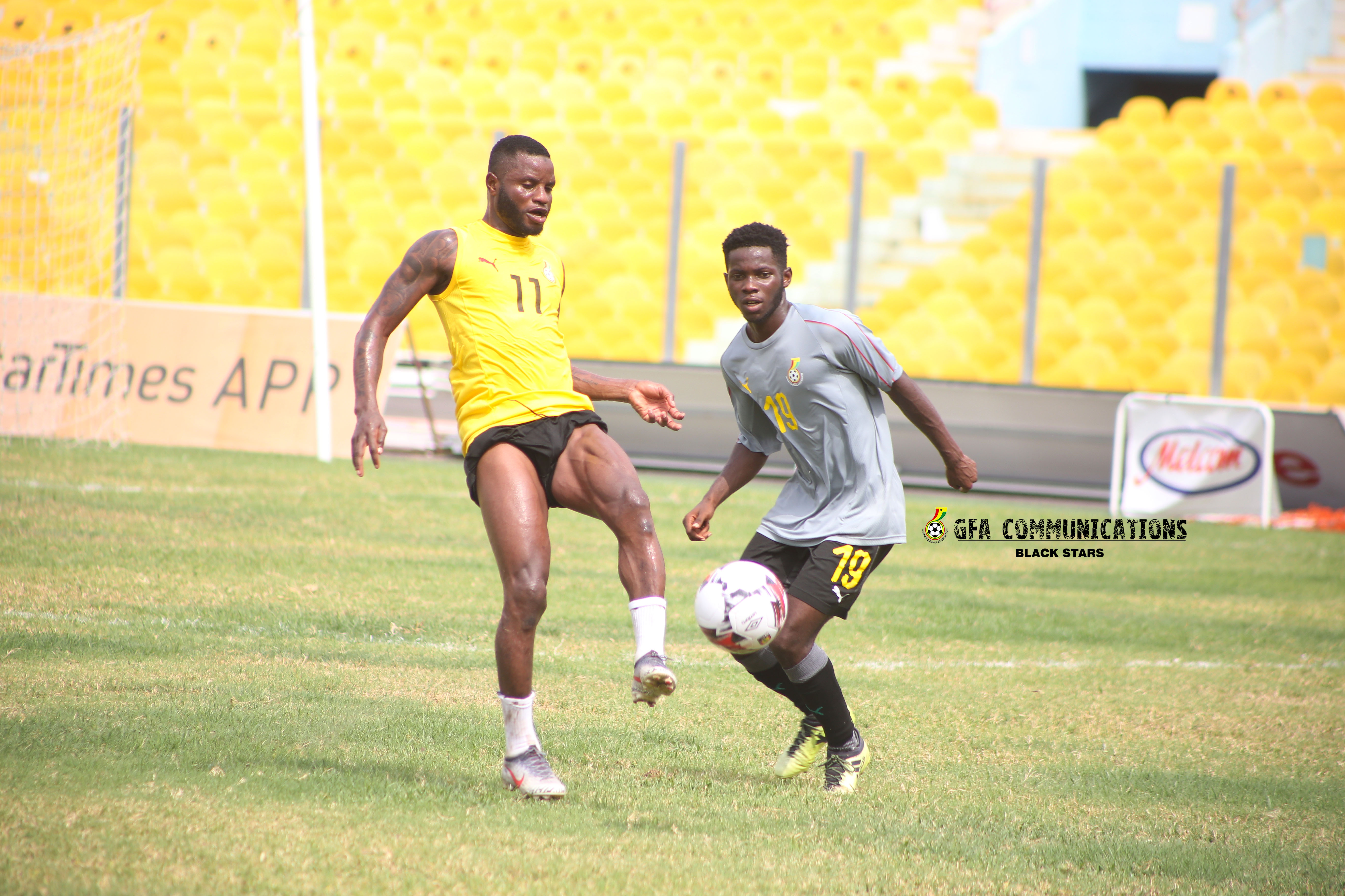 Black Stars break camp, players to report after match day 17 GPL games