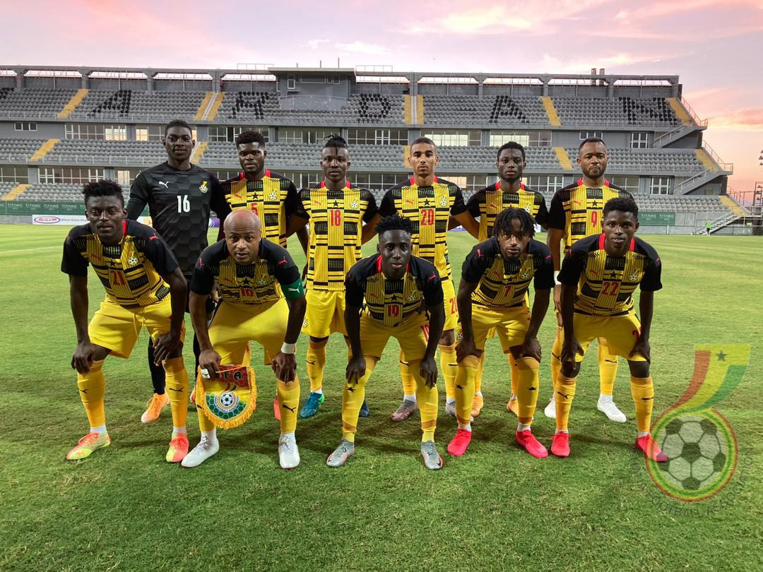 Black Stars depart Accra Tuesday for AFCON qualifier against South Africa
