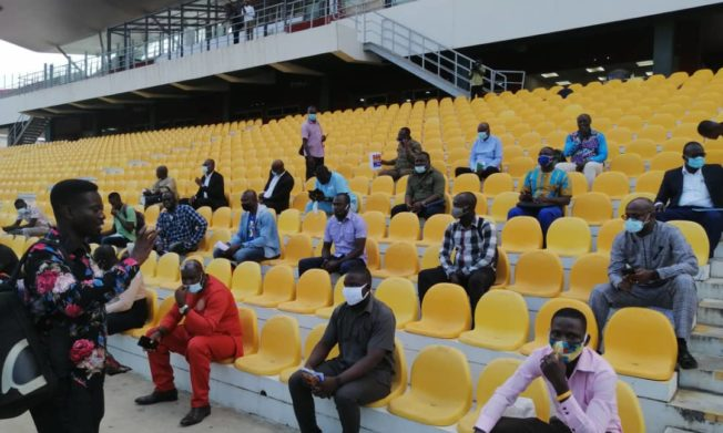 All set for GFA match day stewards training