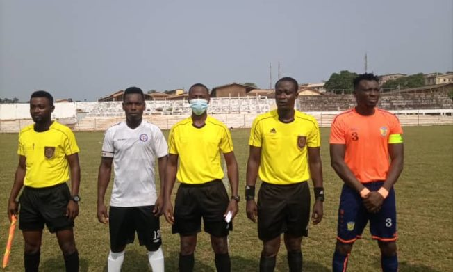 Match Officials for Division One League Matchday 12