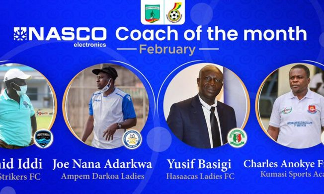 WPL Coach of the month for February nominees