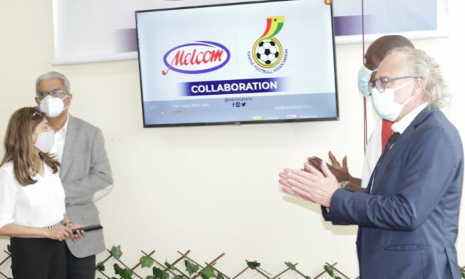 Pictures: Melcom Ghana Limited officially outdoors partnership deal with GFA
