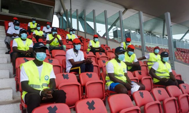 Clubs with Trained and GFA Approved Stewards to admit fans