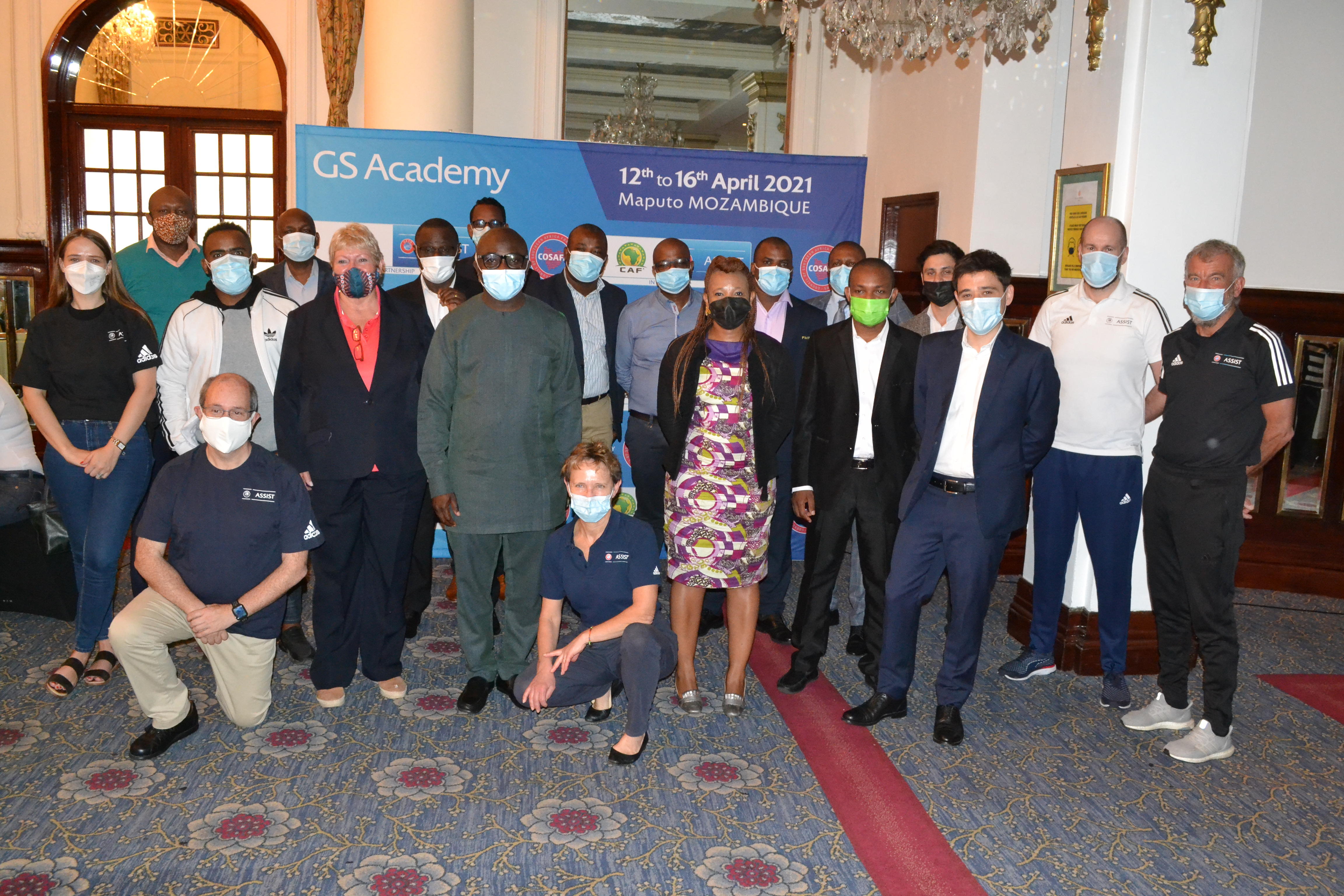 General Secretary arrives in Maputo for GS Academy