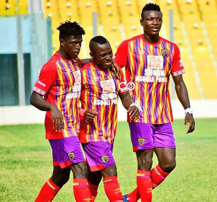 Hearts of Oak run over Aduana FC to move third