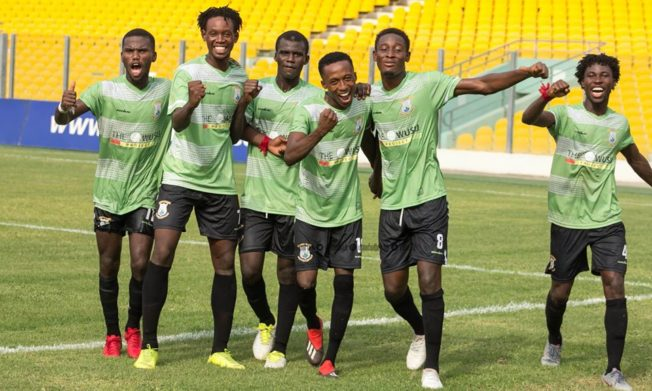 DOL Zone Three results: Tema Youth, Lions draw on the road, Nania beat Weavers