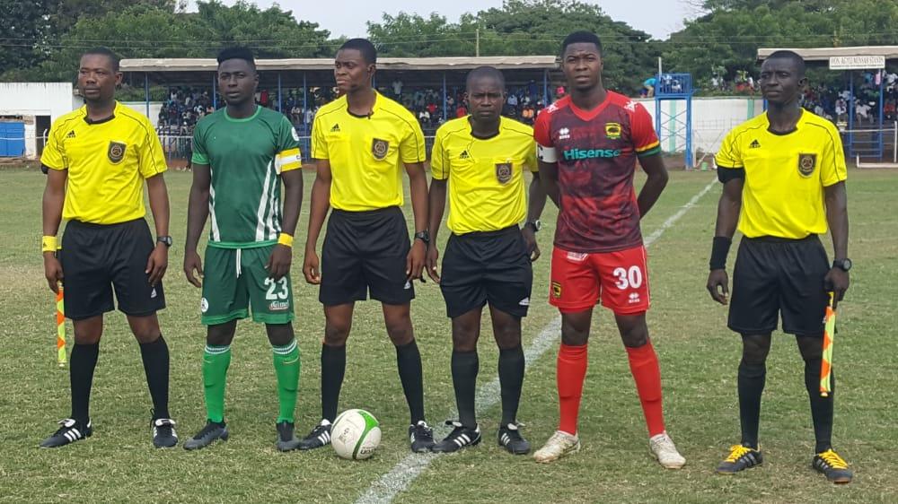 Match Officials for Ghana Premier League Matchweek 18