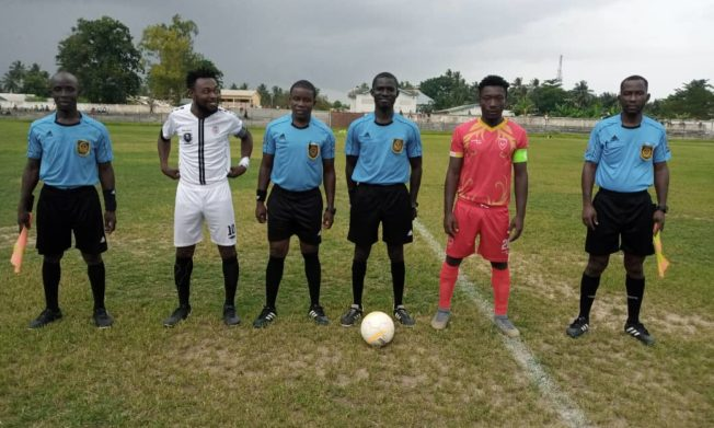 Match Officials for Division One League Matchweek 15