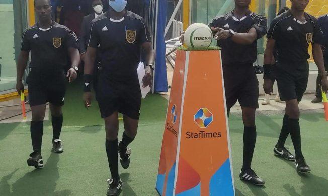 Match Officials for Ghana Premier League Matchweek 19
