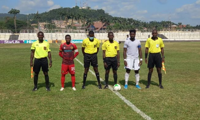 Match Officials for Ghana Premier League Matchweek 20