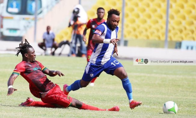 Great Olympics and Asante Kotoko share points in Accra