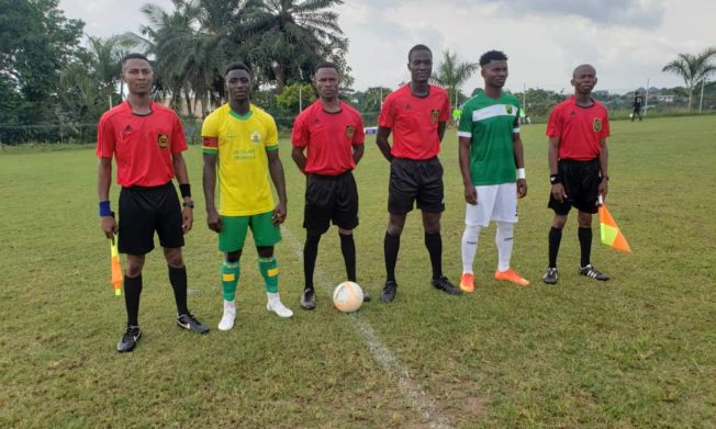 Match Officials for Division One League Matchweek 19