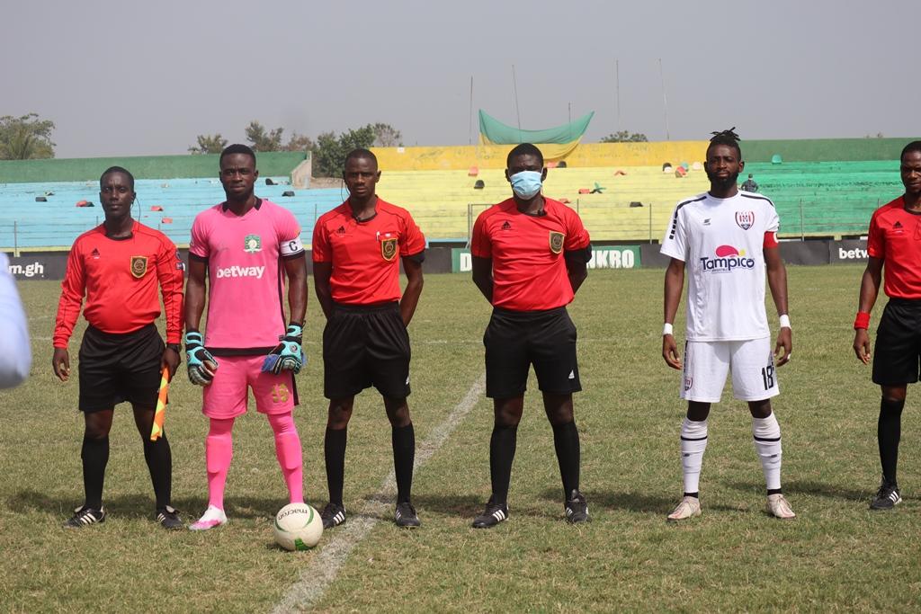 Match Officials for Ghana Premier League Matchweek 22