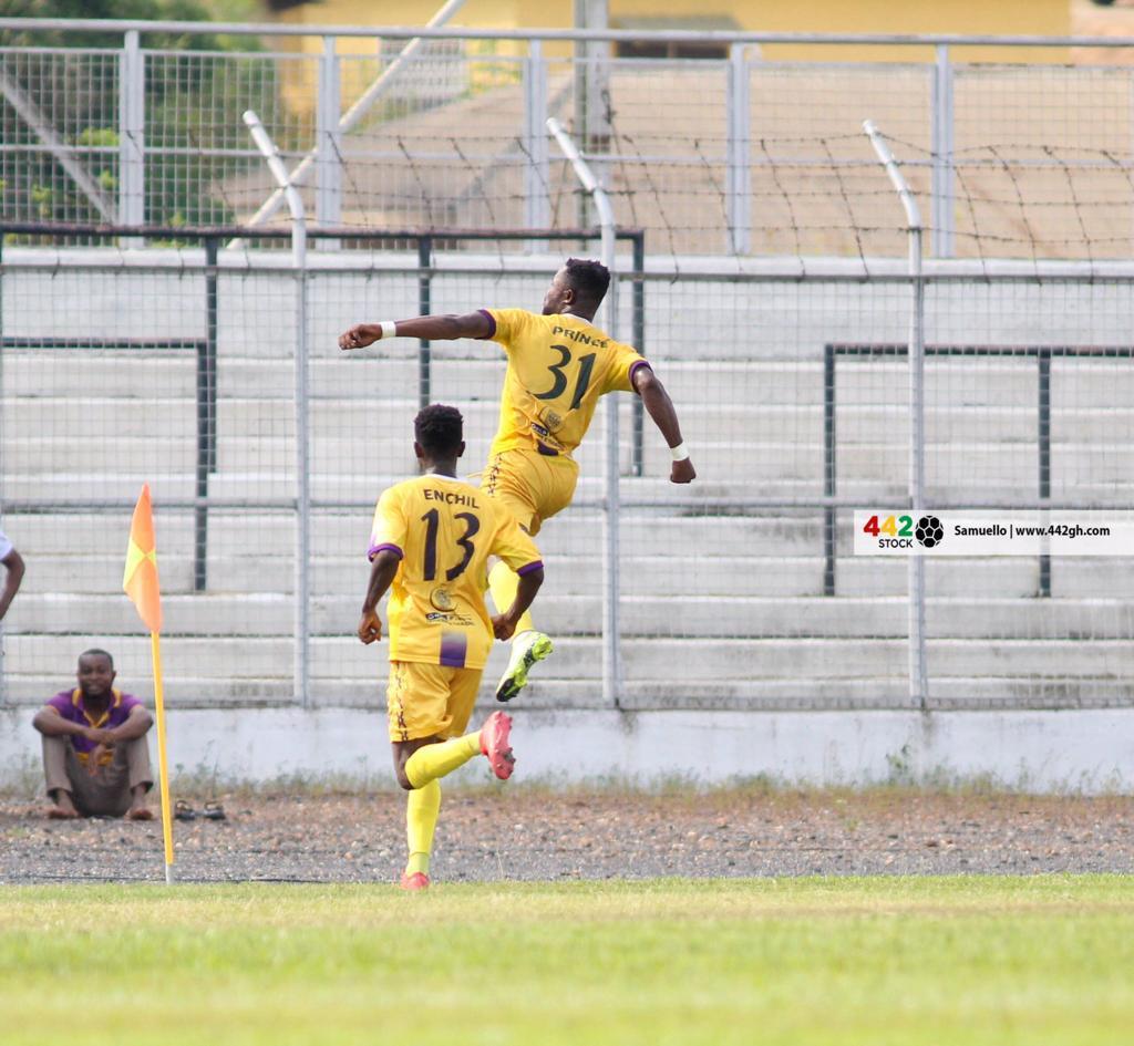 Medeama SC move top after win against Asante Kotoko