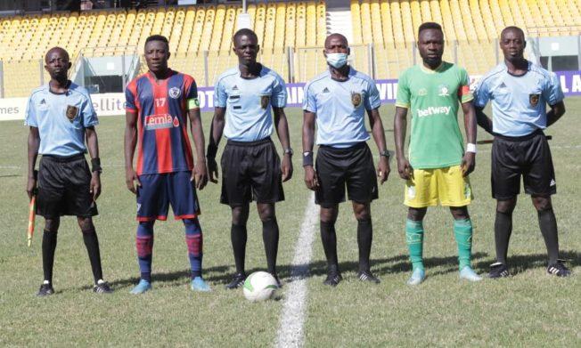 Match Officials for Ghana Premier League Match week 27