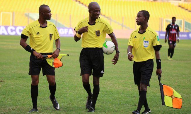 Match Officials for Ghana Premier League Matchweek 26