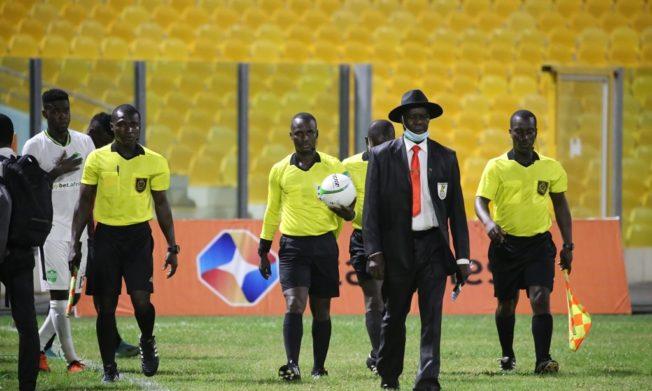 Match Officials for Ghana Premier League Matchweek 23