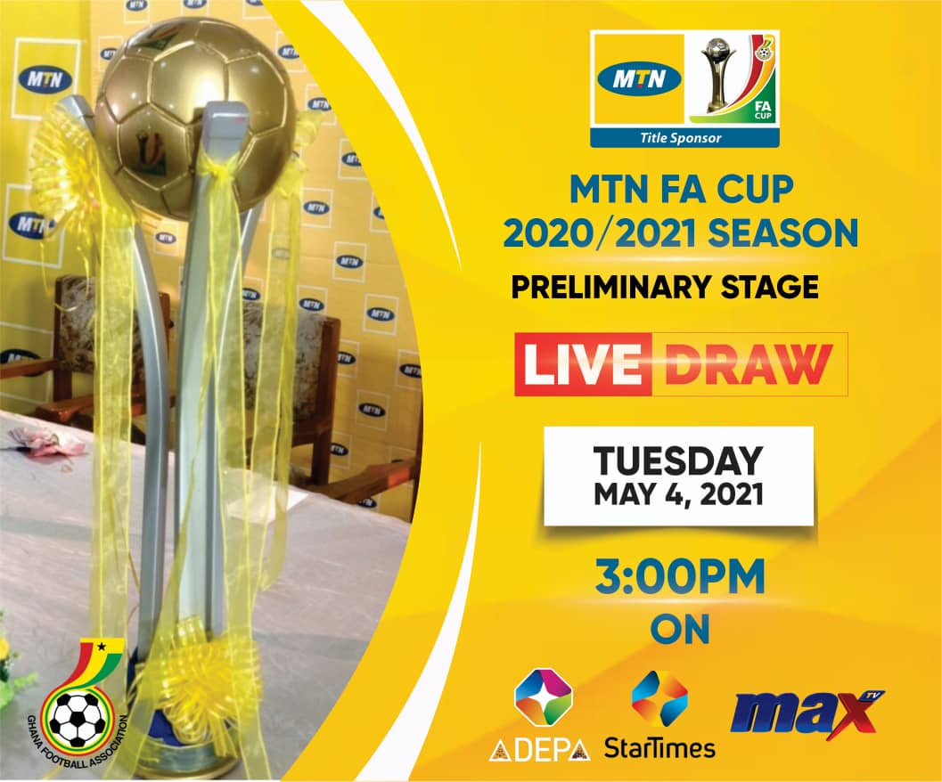 Max TV to host MTN FA Cup preliminary round draw on Tuesday