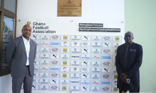 FIFA Development Office team end three-day visit to Ghana