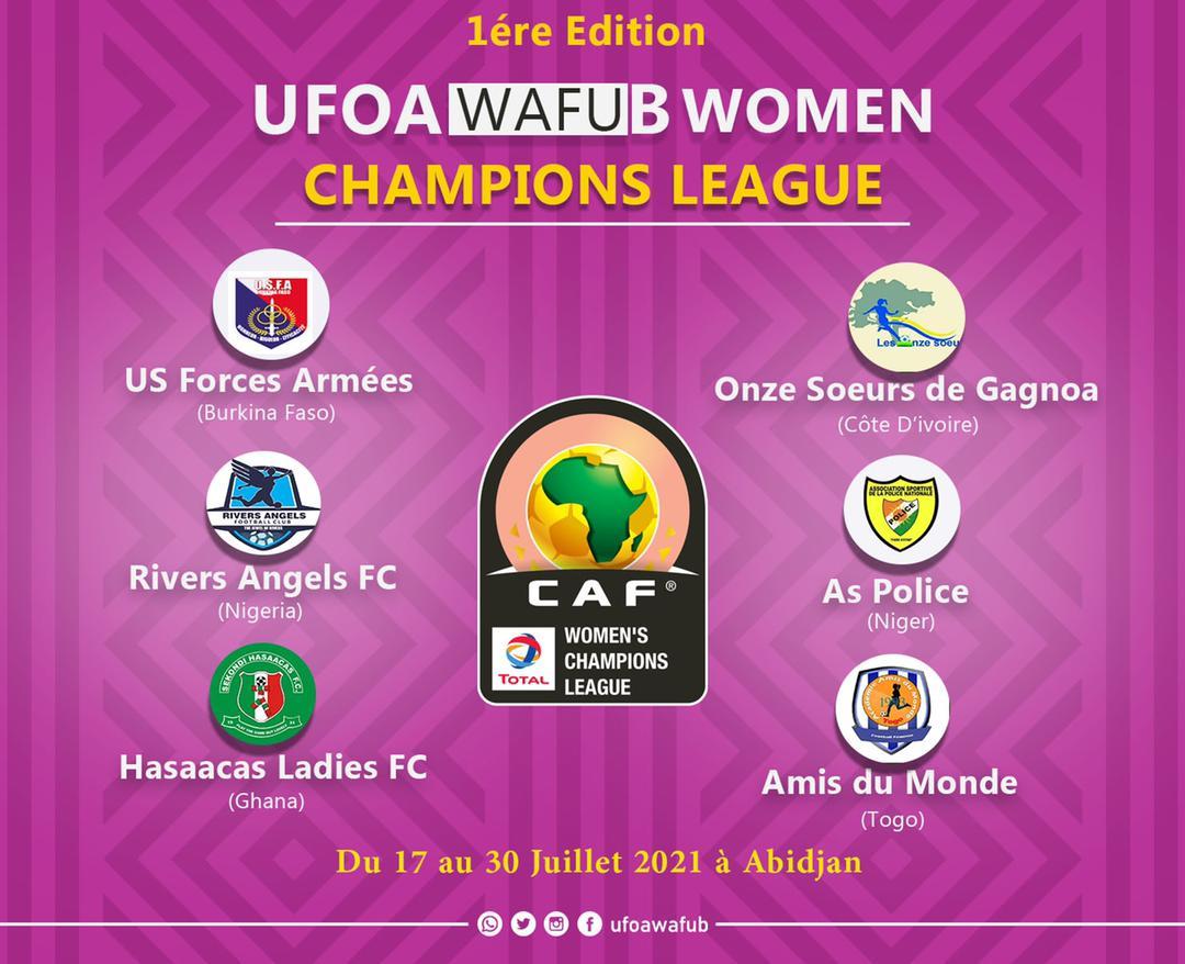 A204B423 A634 4CEF 861D 63659811B9FA - WAFU Zone B Women's Champions League qualifiers postponed