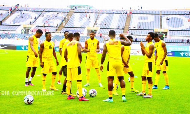 Ghana XI for today's U-24 friendly against South Korea