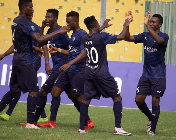 DOL Zone Three results: Accra Lions back to winning ways, Nania pip Planners, Danbort draw with Mighty Jets