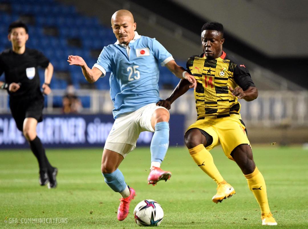Ghana suffer 6-0 defeat to Japan in U-24 friendly match