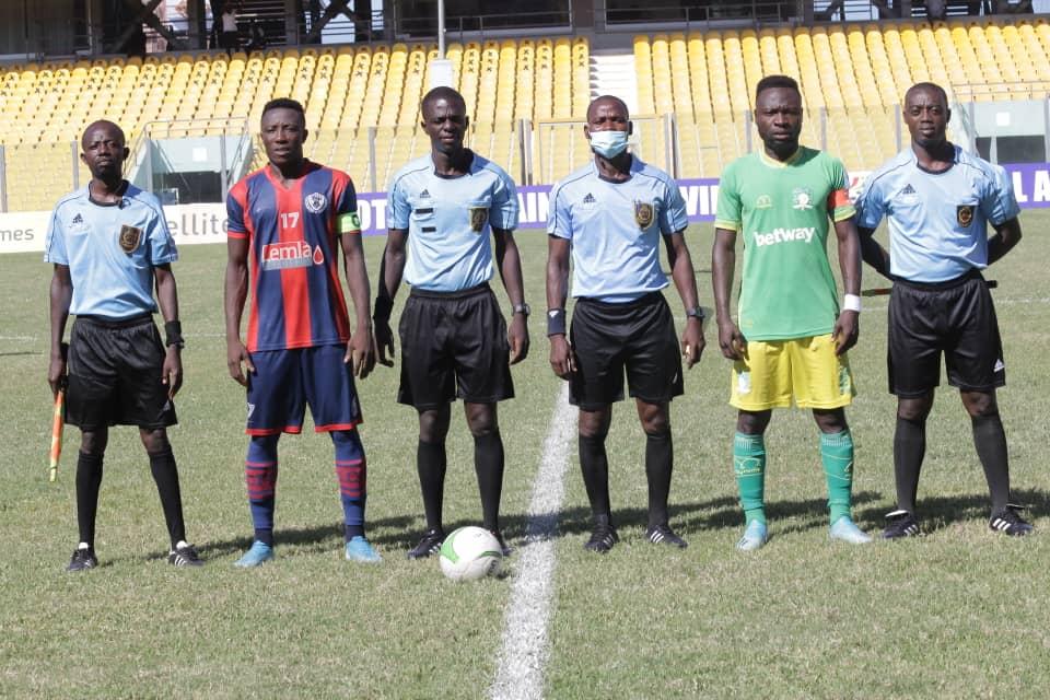 Match Officials for Ghana Premier League Matchweek 30