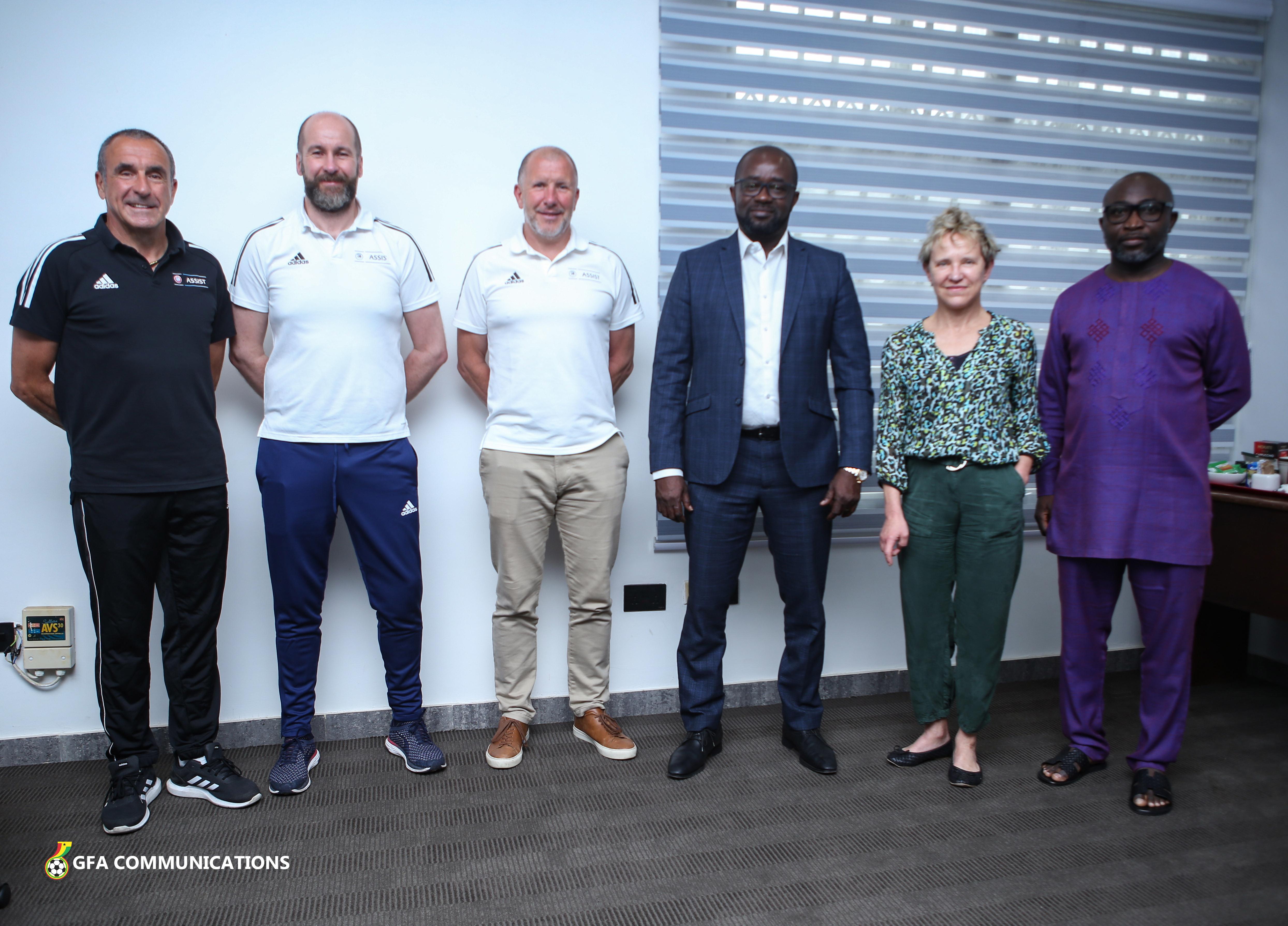 UEFA Assist team arrive in Ghana for leadership retreat programme