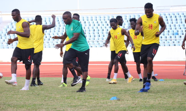 Pictures: Black Stars continue preparation for Morocco, Ivory Coast friendlies