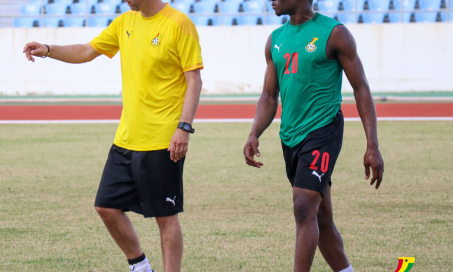 Kudus and Opoku train with colleagues as Stars preparation intensifies ahead of friendlies