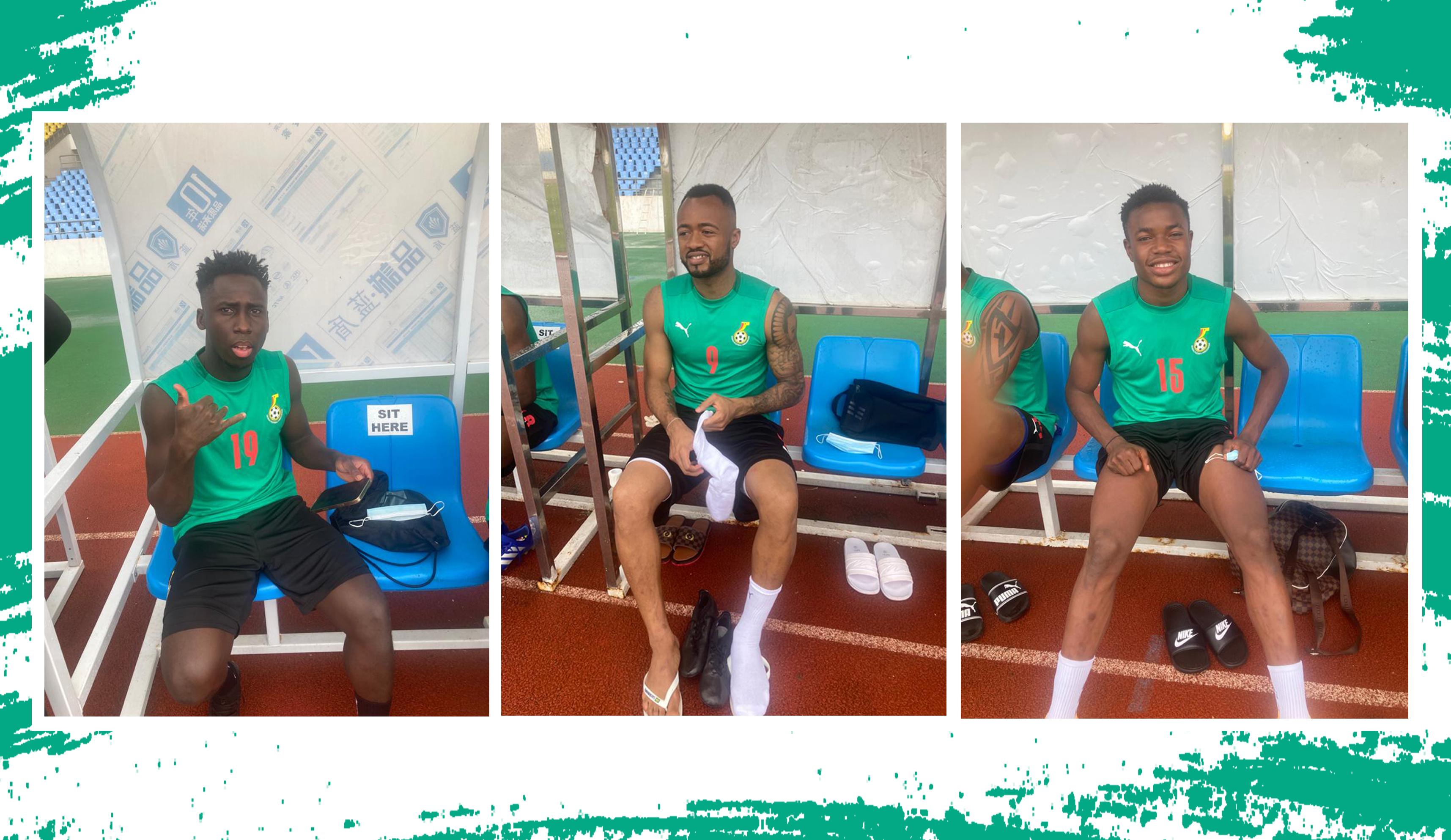 Jordan, Djiku, Owusu, Baba and Fatawu join Black Stars camp in Cape Coast