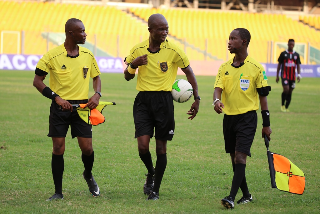 Match Officials for MTN FA Cup Quarter final stage