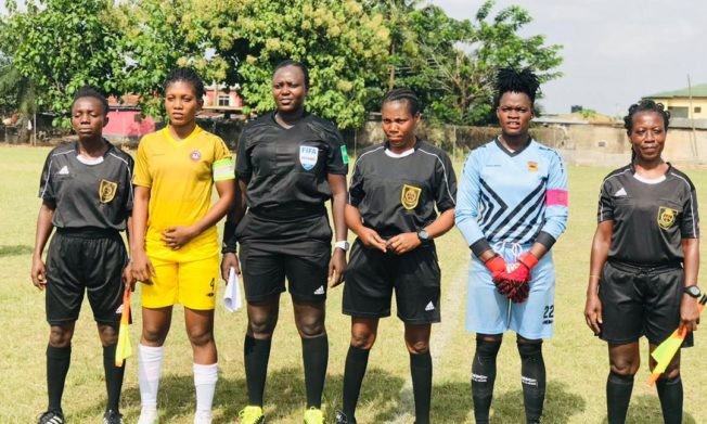 Match Officials for Women's FA Cup Quarterfinals