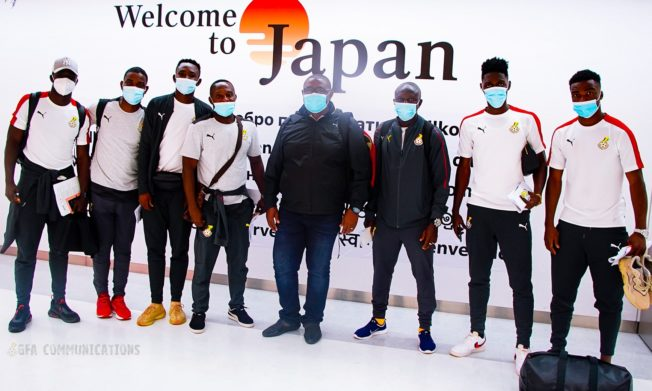 Black Meteors touch down in Tokyo for Japan and South Korea tests