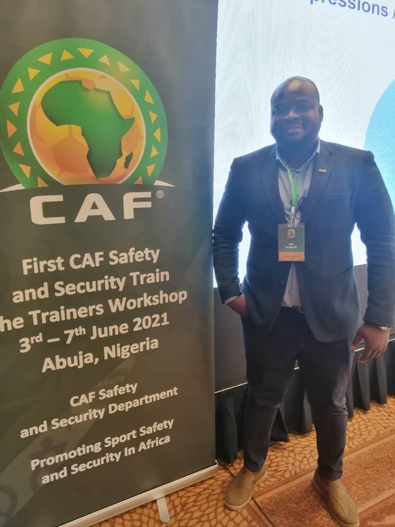Julius Ben Emunah, Nick Owusu attend three-day CAF Safety and Security Workshop