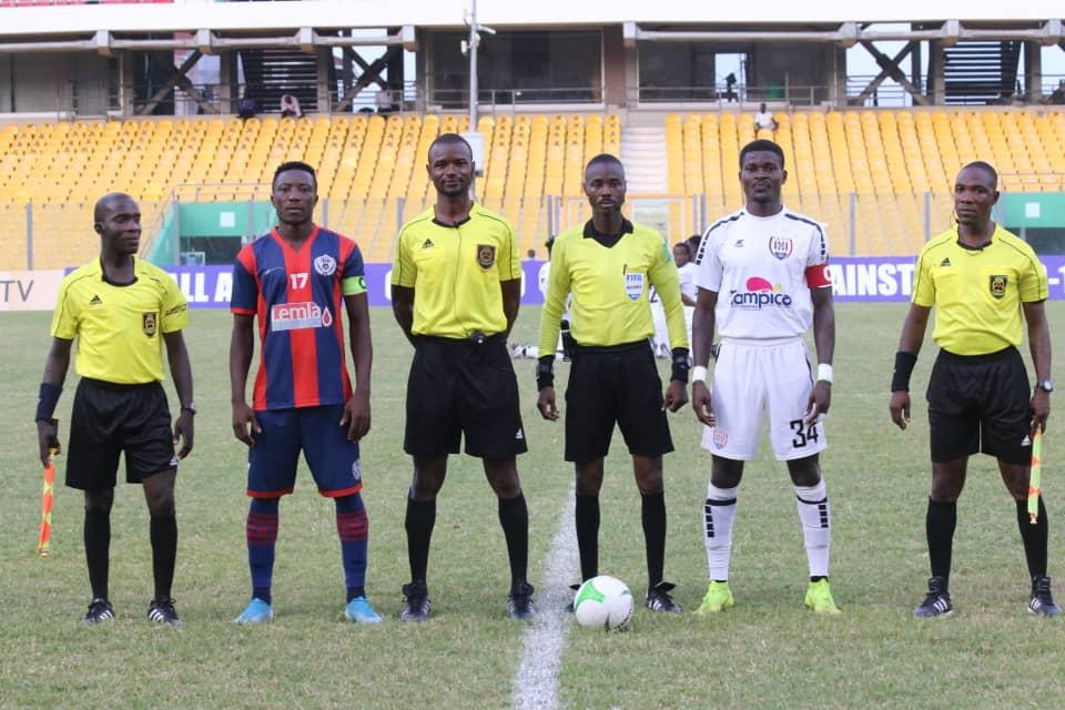 Match Officials for Ghana Premier League Matchweek 32