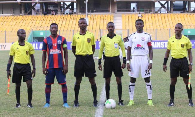 Match Officials for Ghana Premier League Matchweek 29
