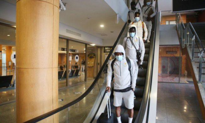Black Stars land in Rabat for Morocco friendly