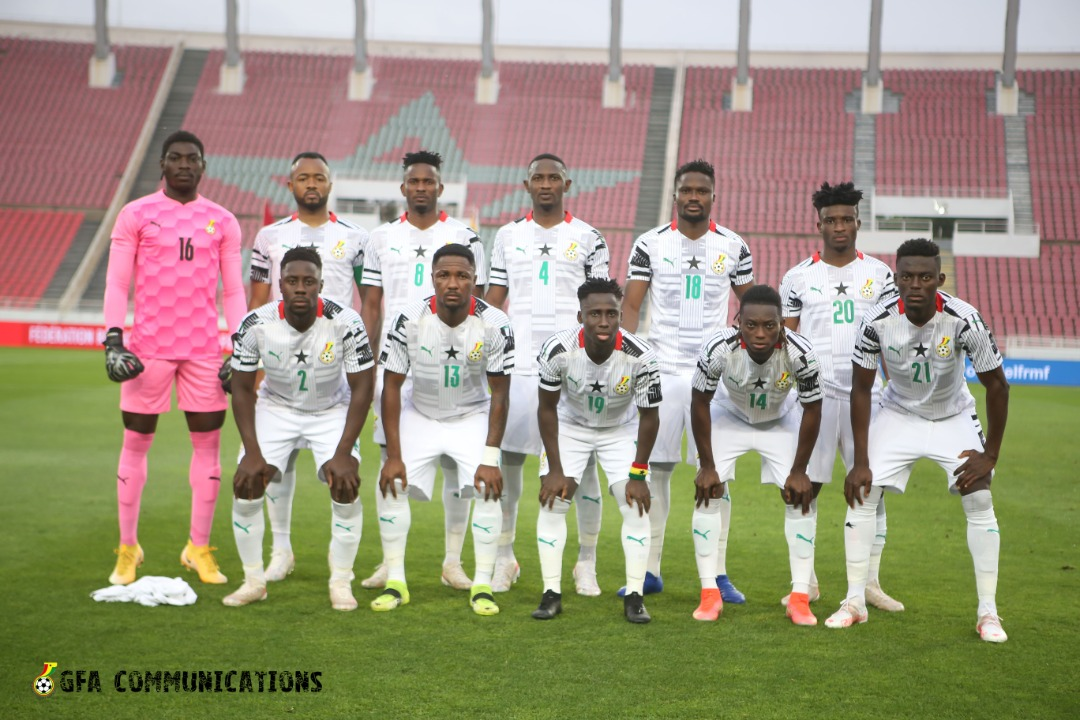 Ghana lose to Morocco in friendly