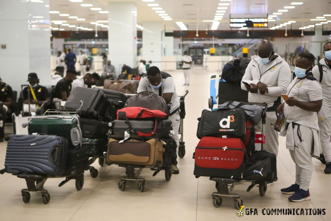Black Stars back home after Morocco friendly