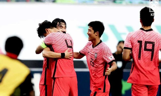 Black Meteors fall to South Korea in International friendly