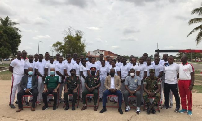 President Simeon-Okraku lauds Armed Forces decision to train coaches